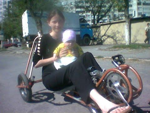 Не выбрасывайте старый велосипед! Сделайте из него новый )))