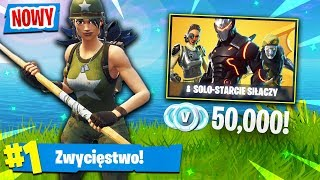 NOWY TRYB! DO WYGRANIA *50,000* V-DOLCÓW! | Fortnite (Battle Royale)