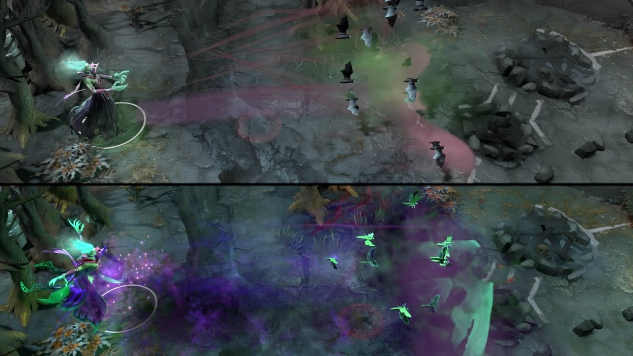 Dota 2 Death Prophet - Fluttering Mortis and kinetic gem ...