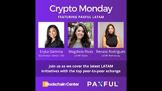 CryptoMondays Miami- Paxful LatAm