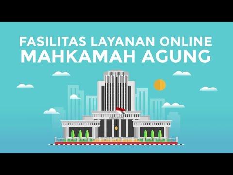 Fasilitas Layanan Online Mahkamah Agung