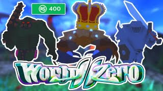 BEST NEW ROBLOX GAME OF 2019 !! - WORLD ZERO