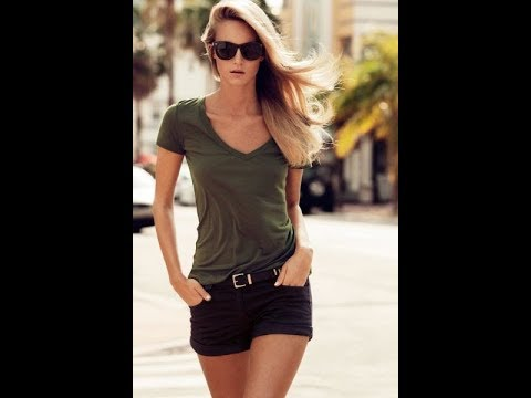 4a6ef2d4f5cc1 Casual summer outfits with shorts for 2018 - YouTube