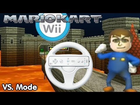 Slim Plays Mario Kart Wii - VS. Mode
