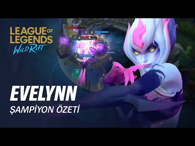 Evelynn Şampiyon Özeti | Oynanış - League of Legends: Wild Rift
