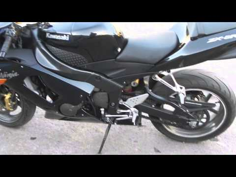 Kawasaki Ninja 636 2006 Обзор 360 градусов