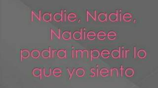Prima J - Nadie (with lyrics)