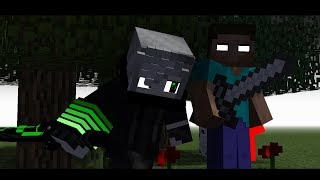 "♬ ""Stronger"" - A Minecraft Original Music Video ♬"