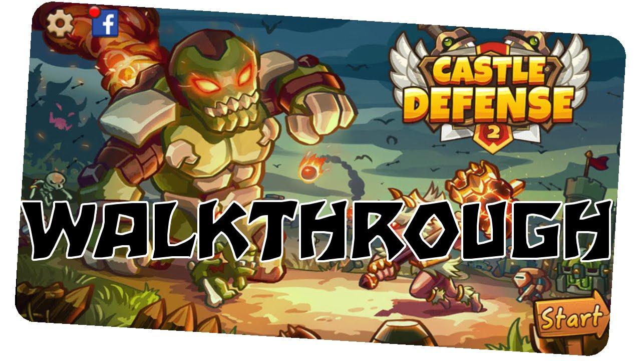 Castle defense прохождение