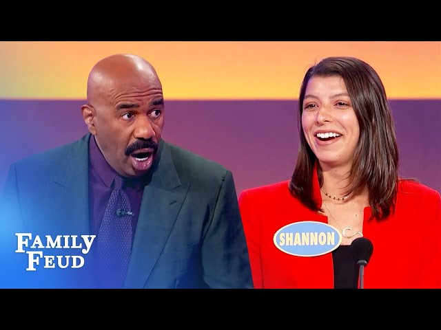 So funny! If Steve cheated with you, he'd buy this for you! | Family Feud