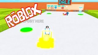 FOR THE GOLD CART   Lawn Mowing ROBLOX Simulator   @DannyVII_YT
