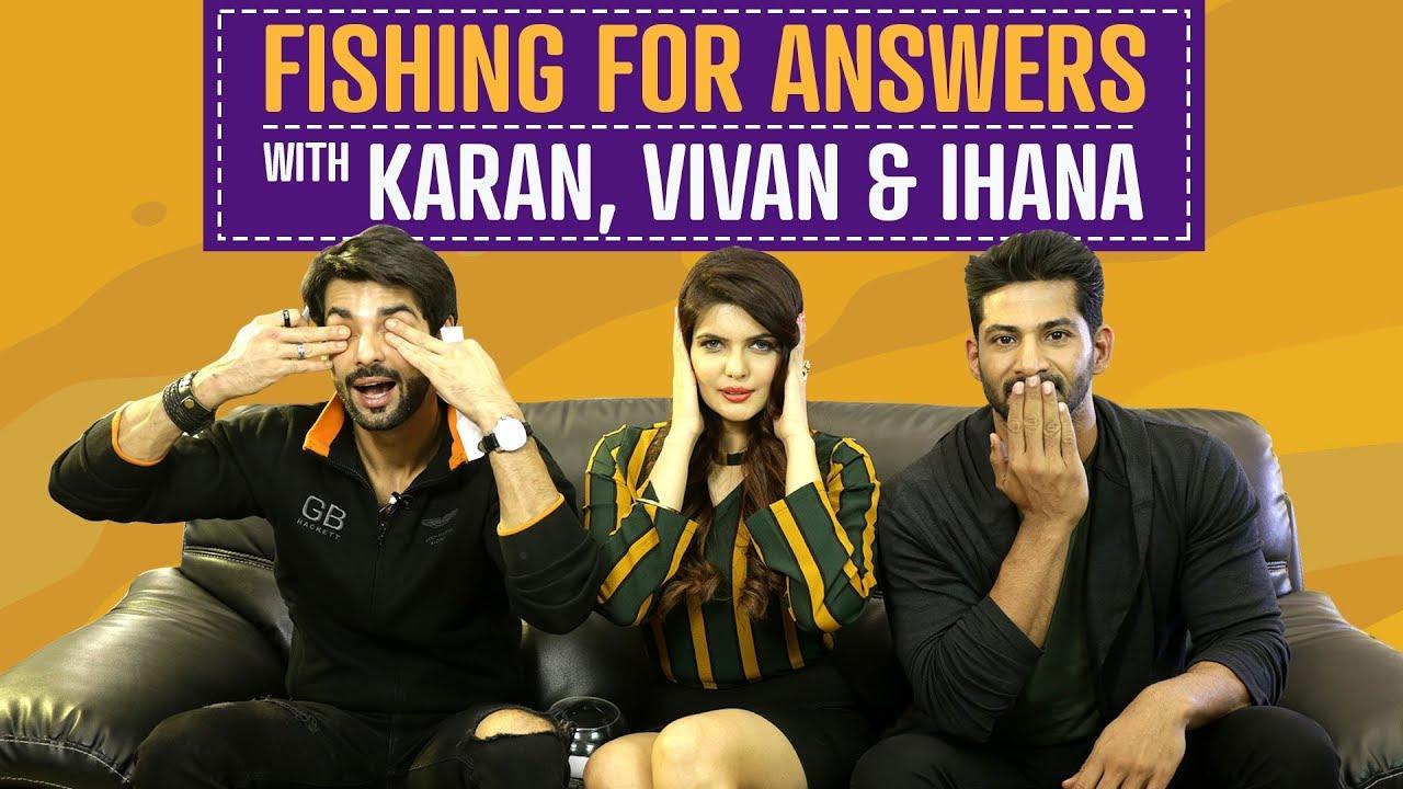 Fishing for Answers ft. Karan, Vivan & Ihana | Hate Story 4 | Pinkvilla | Bollywood