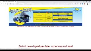 How To Change Ticket Date And/Or Time Online