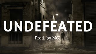 Gangsta 808 Bass Trap Beat Hip Hop Rap Instrumental - UNDEFEATED | Prod. By MGJ 2016