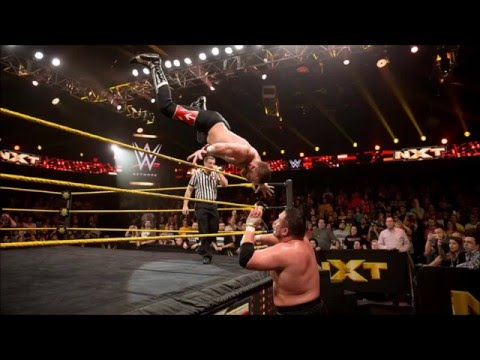 Sami Zayn and Samoa Joe Go the Distance on WWE NXT