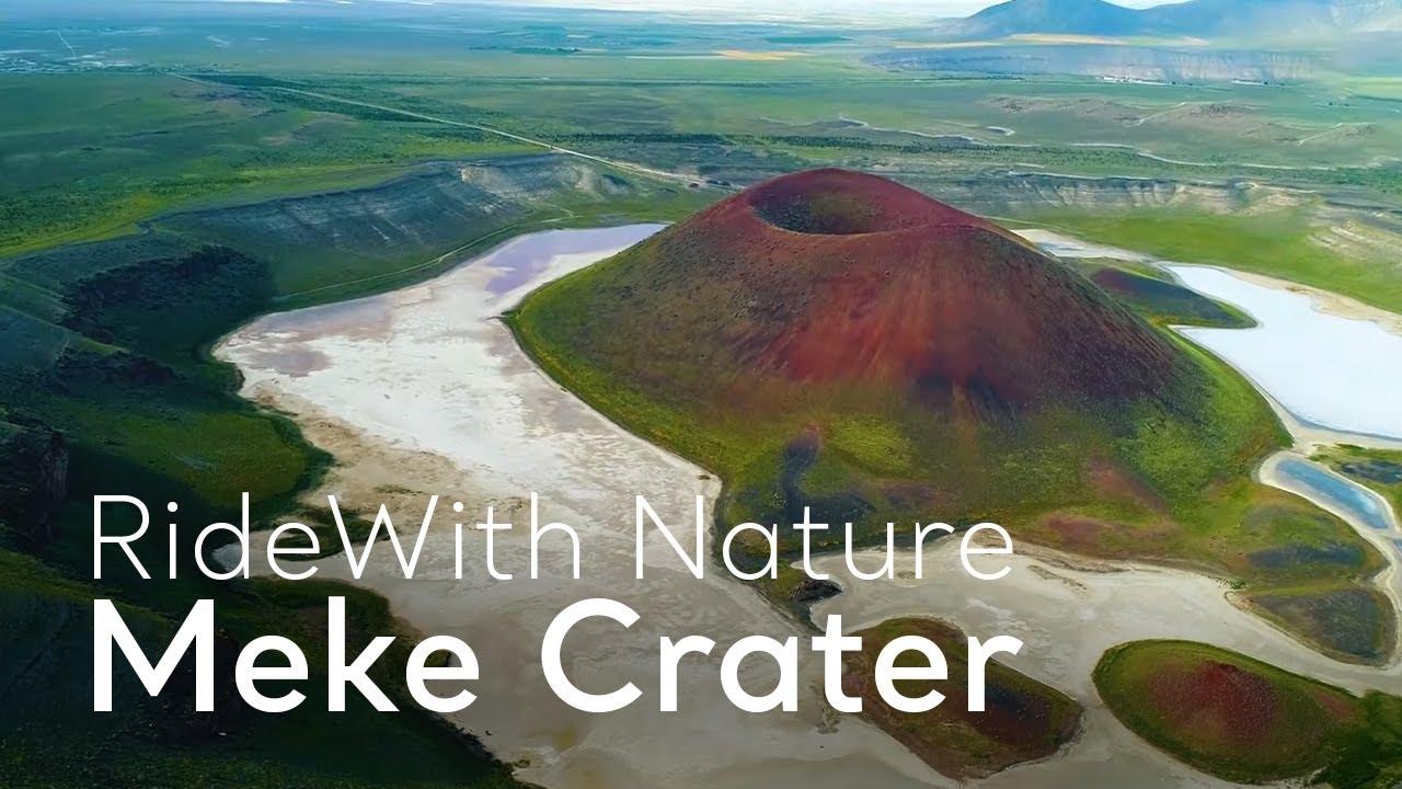 #RideWith Nature - Meke Crater