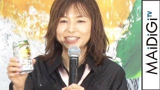 山口智子、「アサヒもぎたて」新CMキャラクター就任に感激「身が引き締まる」 山口智子 検索動画 20