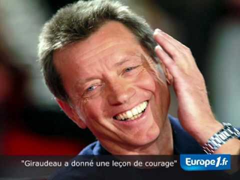 """""""Giraudeau a donné une leçon de courage"""""""