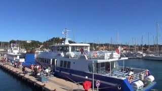 Visite de l'île de Porquerolles