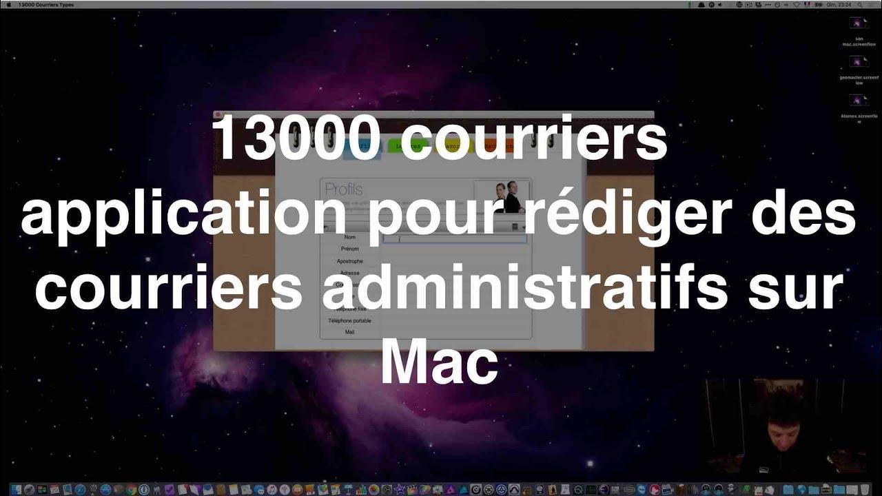 13000 mod u00e8les de courriers  application pour r u00e9diger des