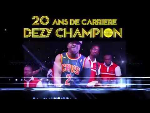 Spot Dézy Champion en Concert live au palais de la culture de Treichville