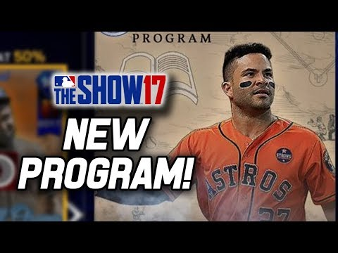 Grinding the New Show's Finest Program! | MLB The Show 17 Diamond Dynasty