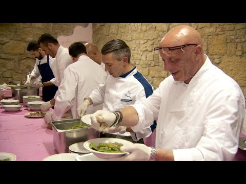 Inside the Italian prison where inmates serve time--and food