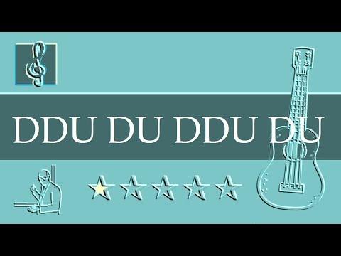 Ukulele TAB - 뚜두뚜두 Ddu-Du Ddu-Du - BLACKPINK 블랙핑크 & BTS 방탄소년단 (Sheet Music)