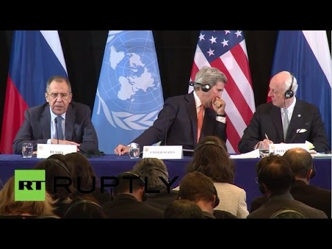 Munich: Lavrov, Kerry and de Mistura speak on Syrian crisis