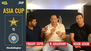 Download Wasim Akram and Mohammad Azharuddin dissect India's thumping win over Pakistan in Asia Cup Mp3 and Videos