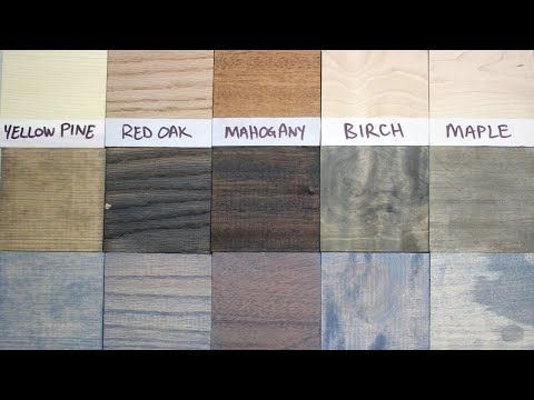 7 Ways to Make New Wood Look Old + The Great Oxidation Experiment