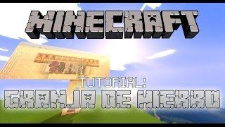 MineCraft 1.8/1.7 Como hacer una granja de Hierro (Pequeña)