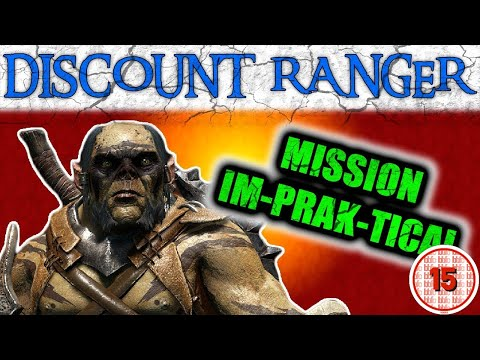 Shadow Of War: The Discount Ranger | THE GREAT PRAK-TENDER