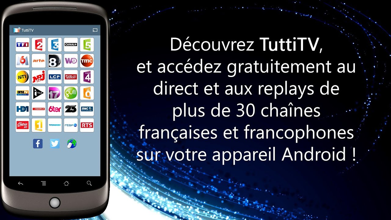captvty pour tablette android