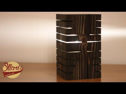 Modern Wood Desk Lamp