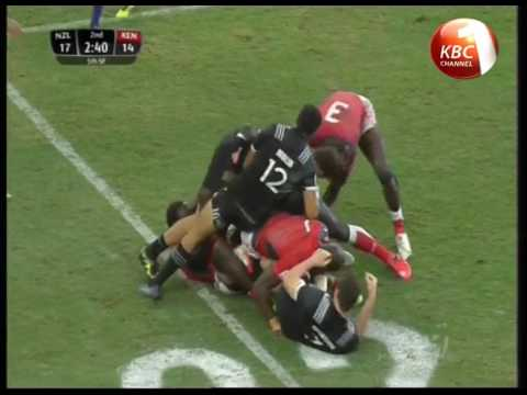Kenya's rugby team placed 5th in Singapore 7s semi finals