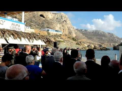 Karpathos 5 0ct. celebration Finiki with Prokopis Pavlopoulos