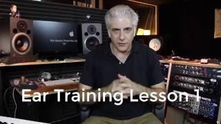 Ear Training Lesson 1 - Ear Training Practice