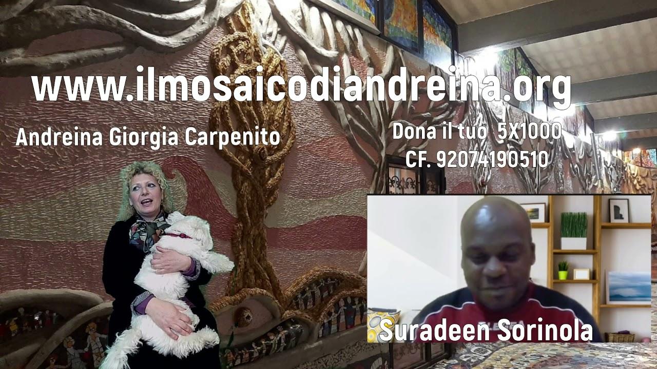 Storie del mosaico: Suradeen arriva dalla Nigeria, per gli amici Willy