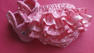 Самые модные детские трусики на памперс / Трусы своими руками с SvGasporovich / Детская одежда