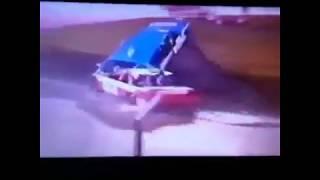 UK Banger Racing Flying Hearse
