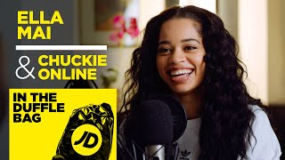 """Me and My Cousin Made a Sign For Usher"" Ella Mai & Chuckie Online 