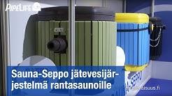 Sauna-Seppo jätevesijärjestelmä rantasaunoille