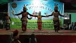 Dayak Kontemporer TBM Iqro, Lempake pada Hut Joyo Mulyo ke-47