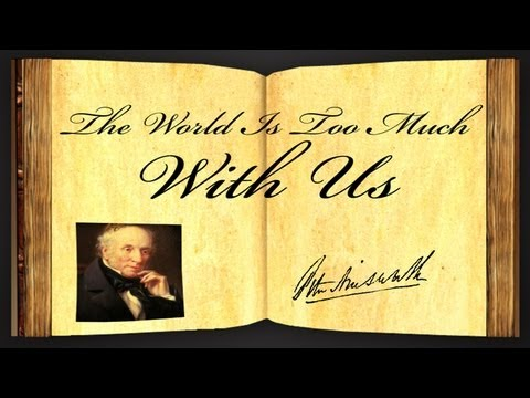 the world is too much us essay
