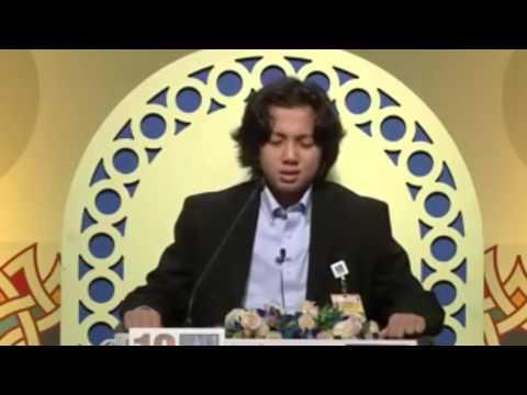 Merdunya Suara Adik Hamzah El Habashy Dari Amerika   Juara Hafidz Quran 2015 Dubai online
