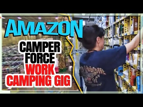 Job Types As Member Of Amazon Camper Force Work Camping Gig