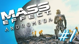 Mass Effect: Andromeda #1 - Character Creation/Intro