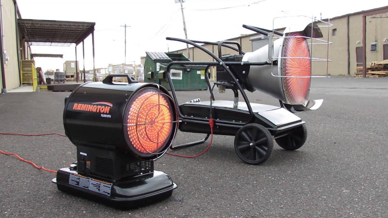 Remington Silentdrive Diesel Kerosene Radiant Heaters