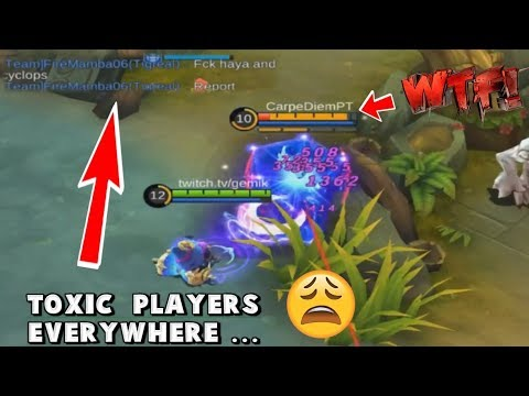 BOOSTING TRASHTALKERS IN SOLOQ … CYCLOPS IN TOXIC RANKED :D - Mobile Legends